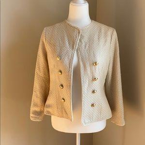 Elizabeth McKay Wool Tweed Blazer